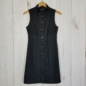 Banana Republic | Career Black, Buttons Dress - 4